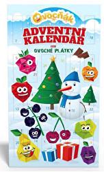 Adventní kalendář Ovocňák mix 24 x 10 g