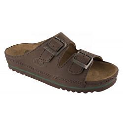 Zdravotní obuv - AIR BAG - Tmavě Hnědá