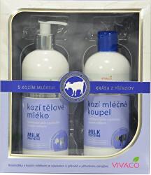 Ajándékdoboz Kecsketej - tejfürdő, testápoló