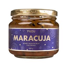 Yuzu Maracuja - Nápojový koncentrát s kúskami maracuje, s vitamínom A, B, C 550 g