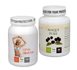 Na Sluneční ochranu - Maqui Pure + FitMe Slim&Sun