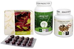Na Imunitu - Cordyceps Premium + Regevit + Peralgin