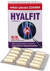 Hyalfit 60 tob. + 30 tob. ZADARMO - ZĽAVA - pokrčený ŠKATUĽA