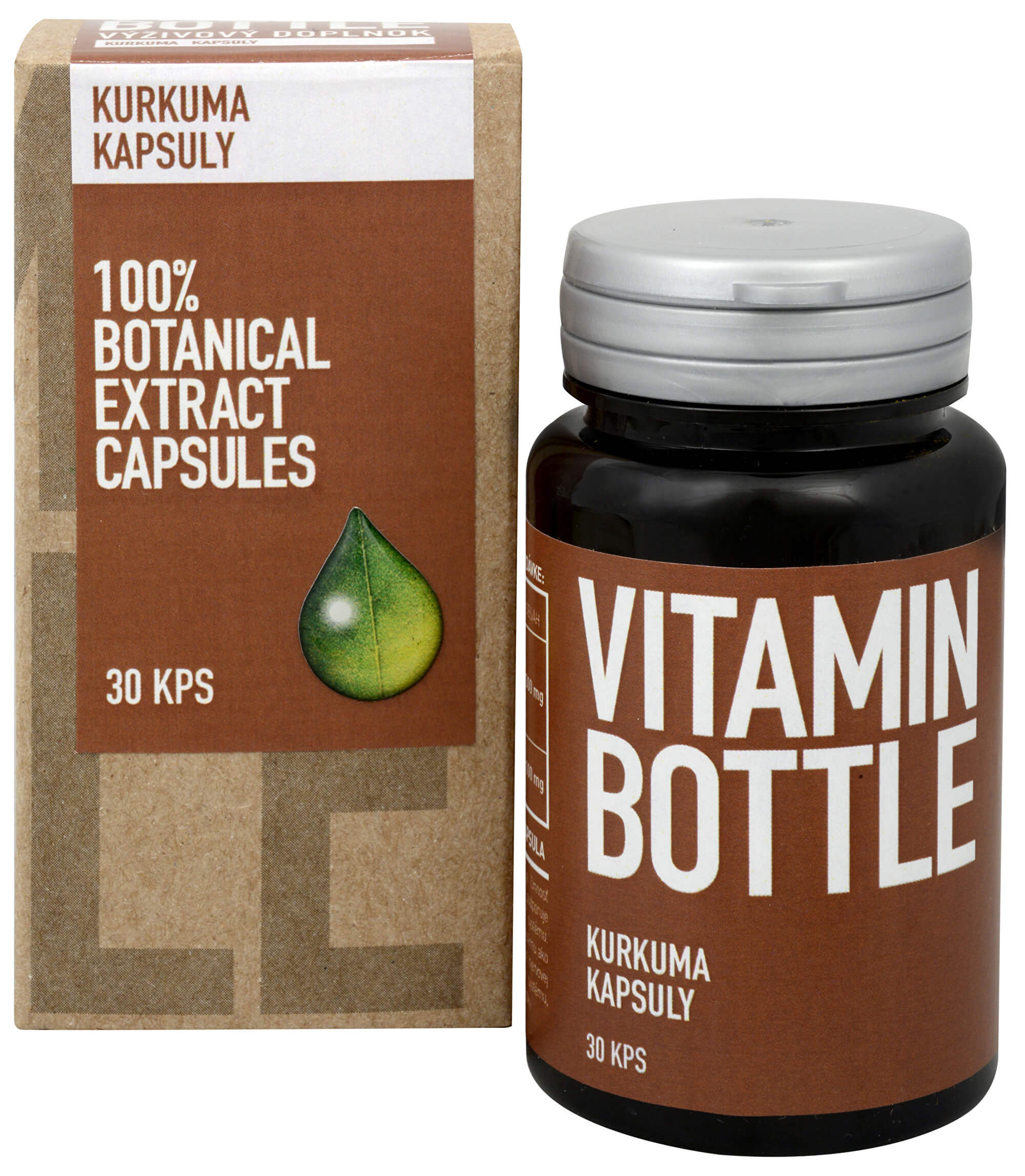 Vitamin Bottle Kurkuma 30 kapslí