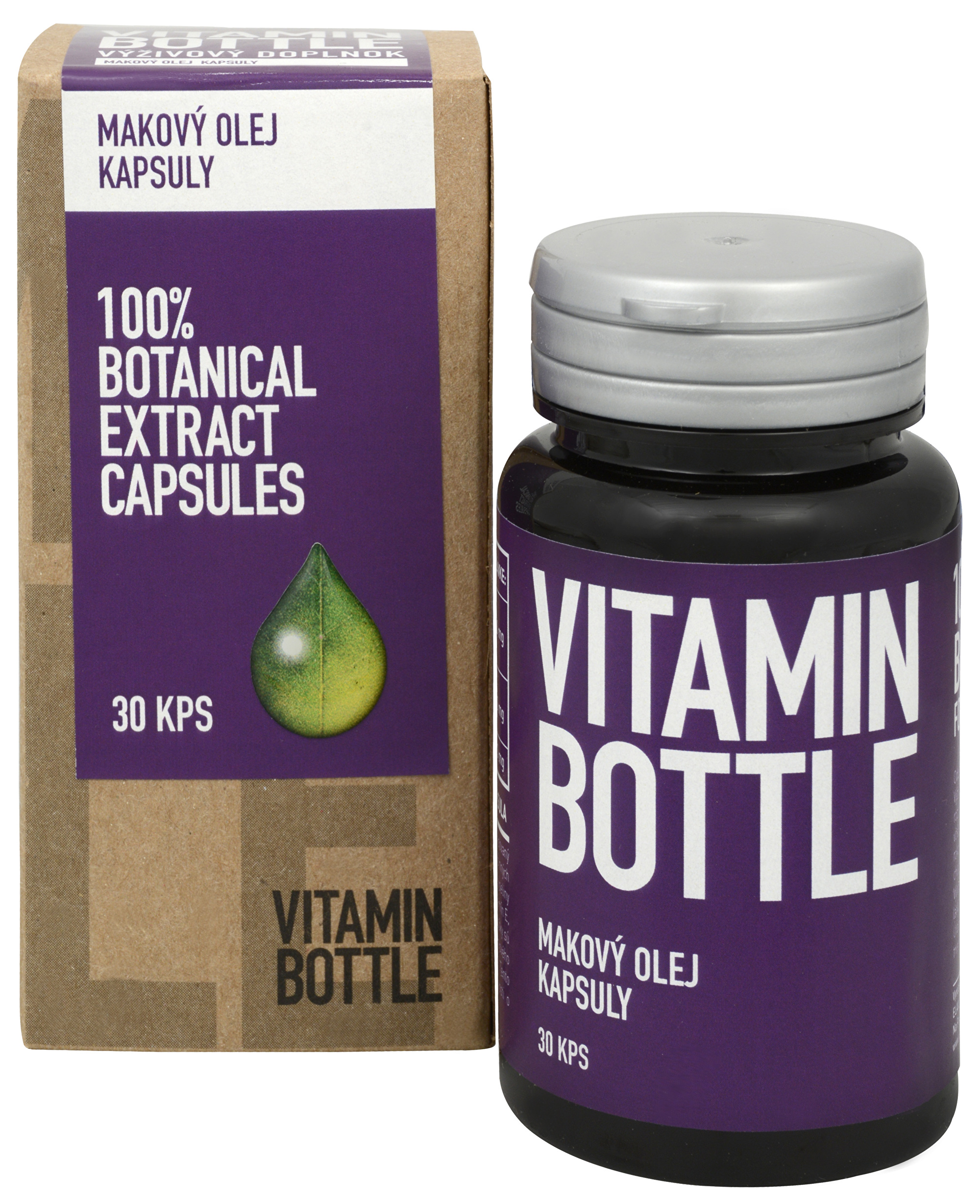 Vitamin Bottle Makový olej 30 kapslí