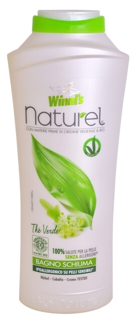 Winni´s NATUREL Bagno Schiuma The Verde pěna do koupele se zeleným čajem 500 ml
