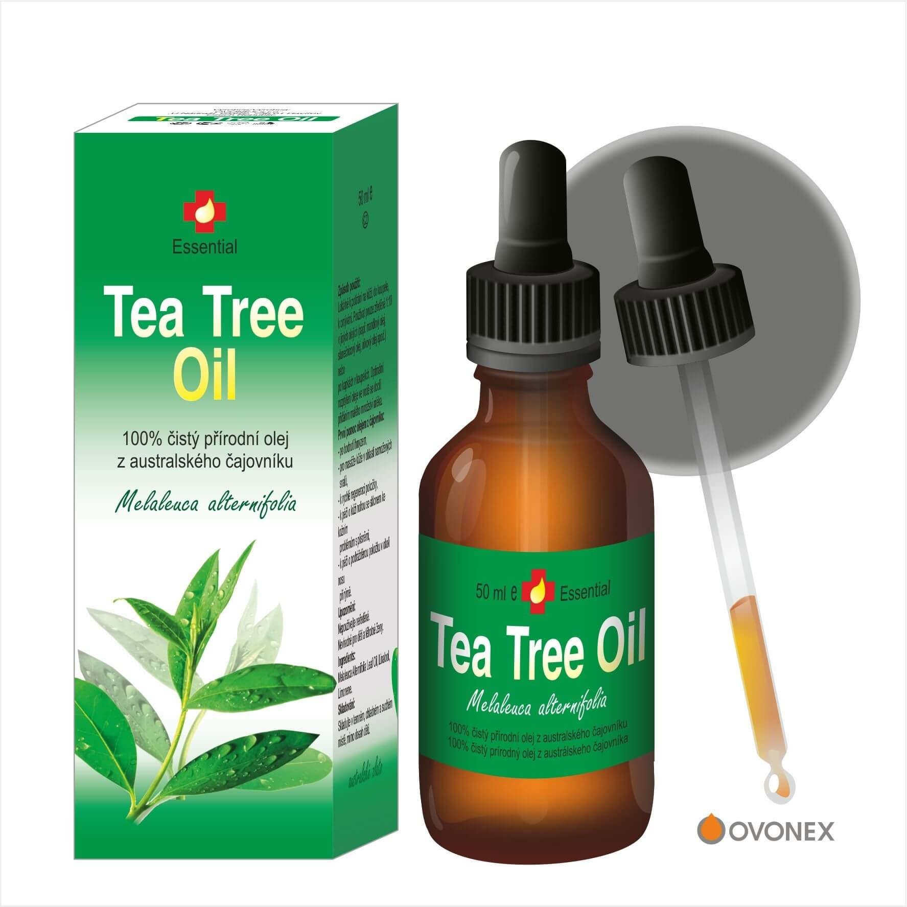 GrepoSept Tea Tree Oil (Melaleuca alternifolia) 50 ml