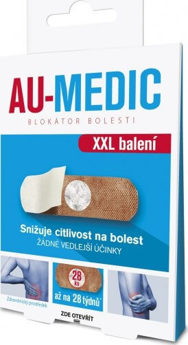 Simply You AU-MEDIC blokátor bolesti 28 ks