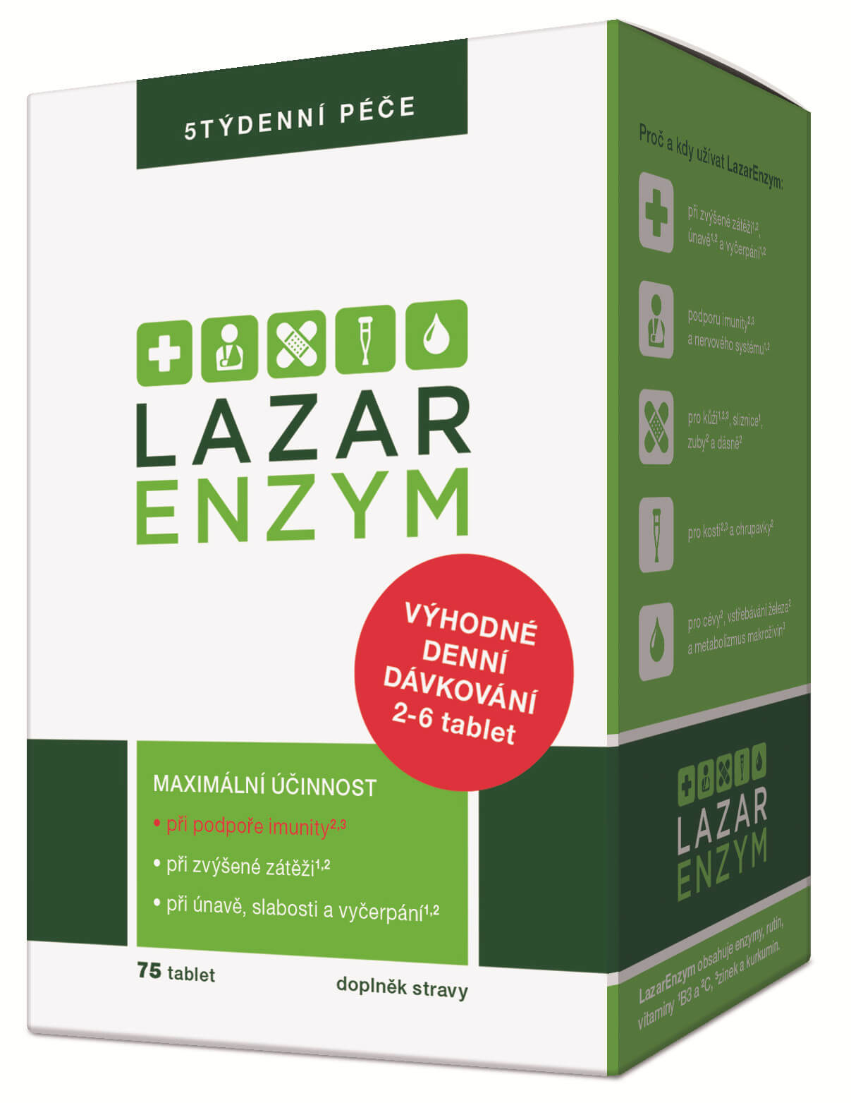 Simply You LazarEnzym 75 tablet