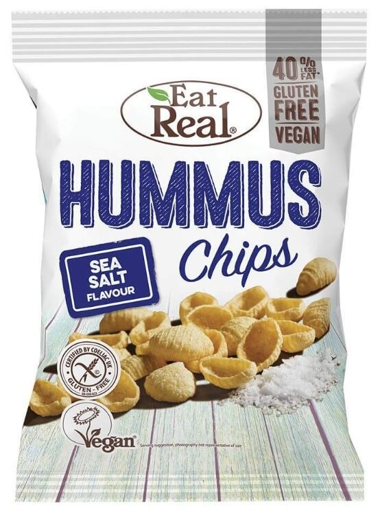 Eat Real Hummus Sea Salt 135 g