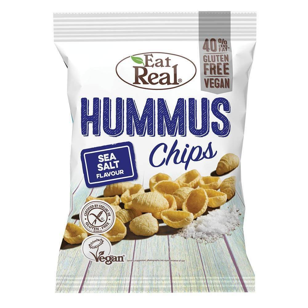 Eat Real Hummus Sea Salt 45 g