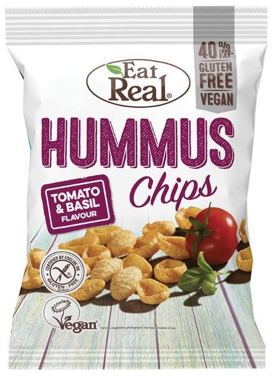 Eat Real Hummus Tomato Basil 135 g
