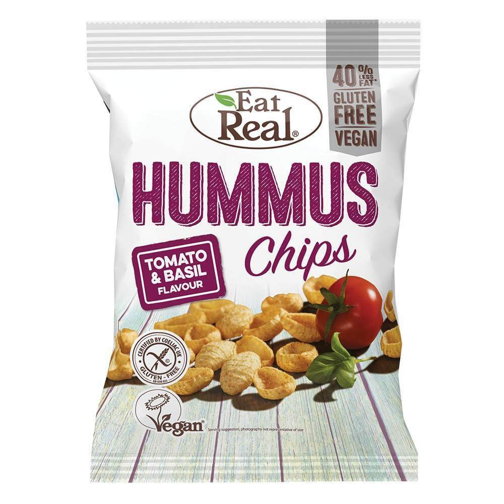 Eat Real Hummus Tomato Basil 45 g