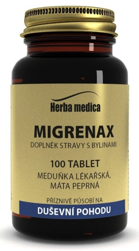 HerbaMedica Migrenax 50 g - 100 tablet