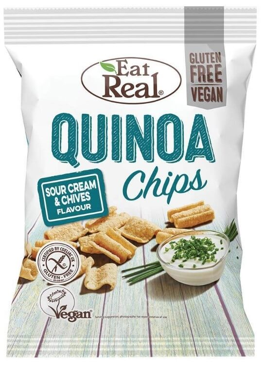 Eat Real Quinoa Sour Cream Chives 30 g