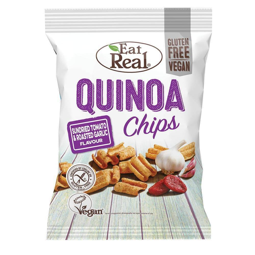 Eat Real Quinoa Sundried Tomato Garlic 30 g