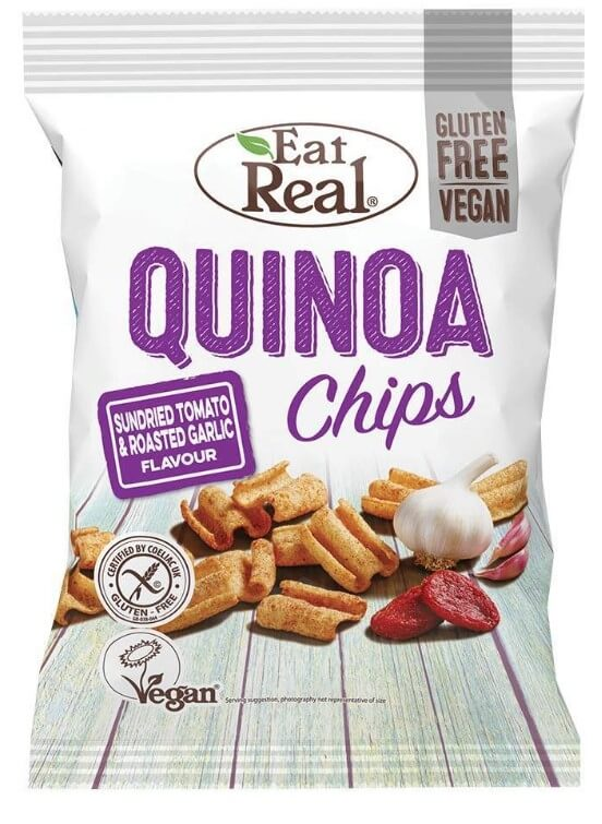 Eat Real Quinoa Sundried Tomato Garlic 80 g