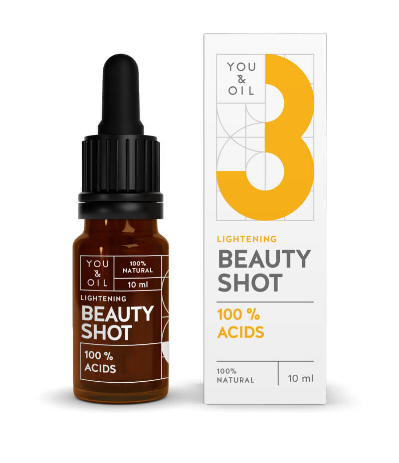 You Oil You Oil Beauty Shot 100 percent Acids 10 ml