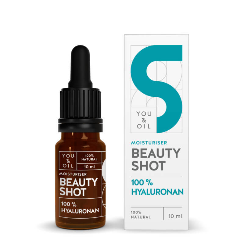 You Oil You Oil Beauty Shot 100 percent Hyaluronan 10 ml