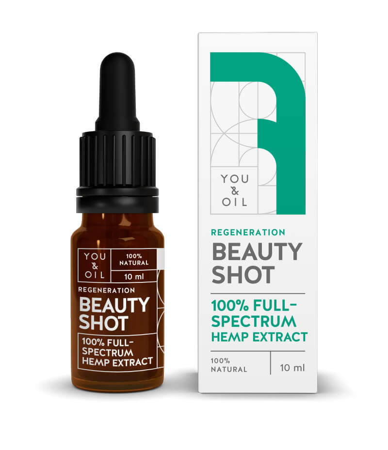 You Oil You Oil Beauty Shot 100 percent Regenerační konopné sérum 10 ml
