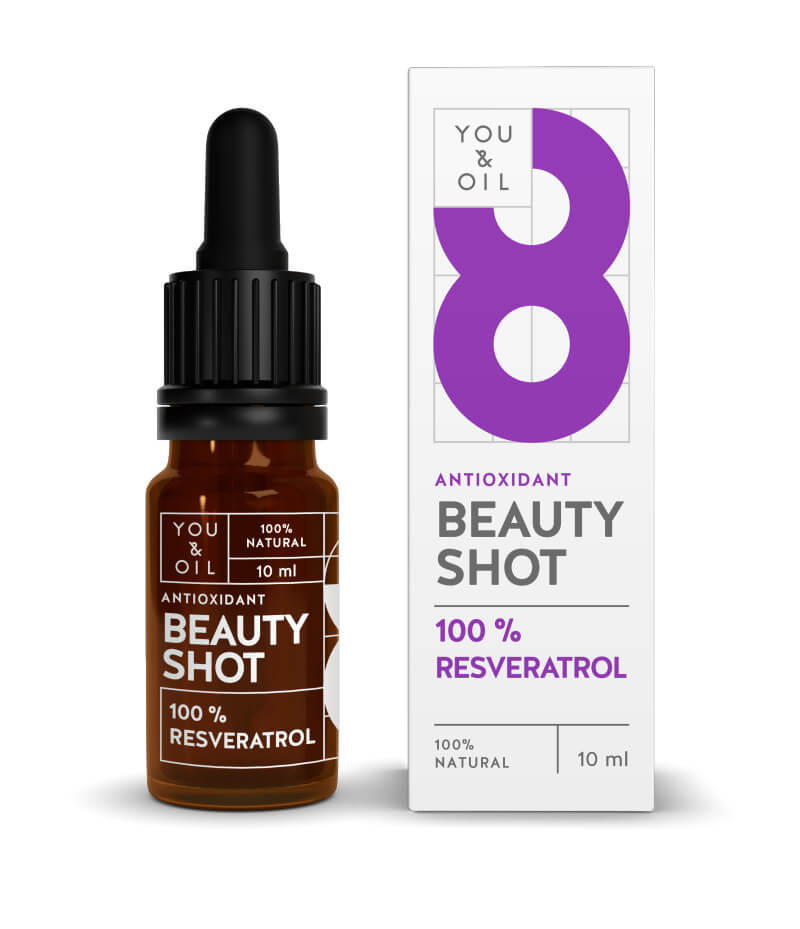 You Oil You Oil Beauty Shot 100 percent Resveratrol 10 ml