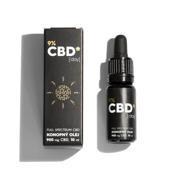 "CBD STAR CBD ""DAY"" OLEJ – 9 percent CBD"