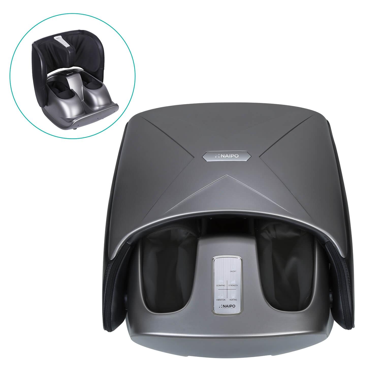 NAIPO Masážní přístroj 2v1 na chodidla a lýtka NAIPO MGF-3600