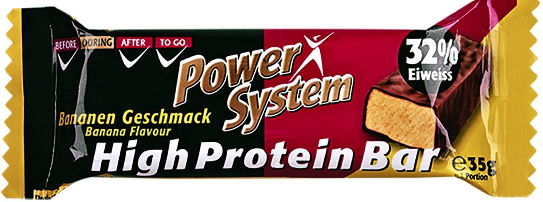 Power System High Protein Bar 32 percent Banana 35 g