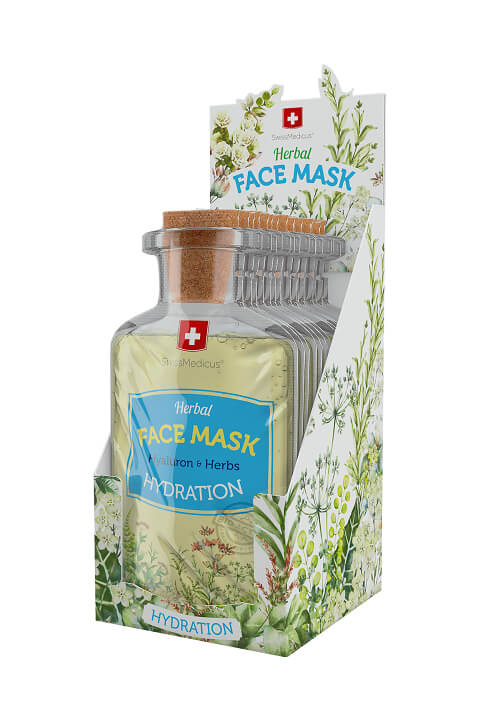 Swissmedicus Herbal Face Mask - Hydratation 24 x 17 ml