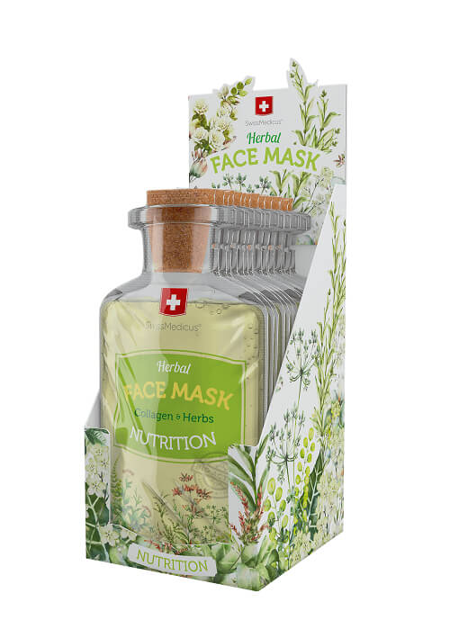 Swissmedicus Herbal Face Mask - Nutrition 24 x 17 ml