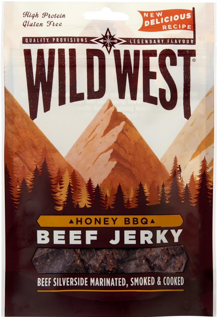Wild West Beef Jerky Honey BBQ 25 g