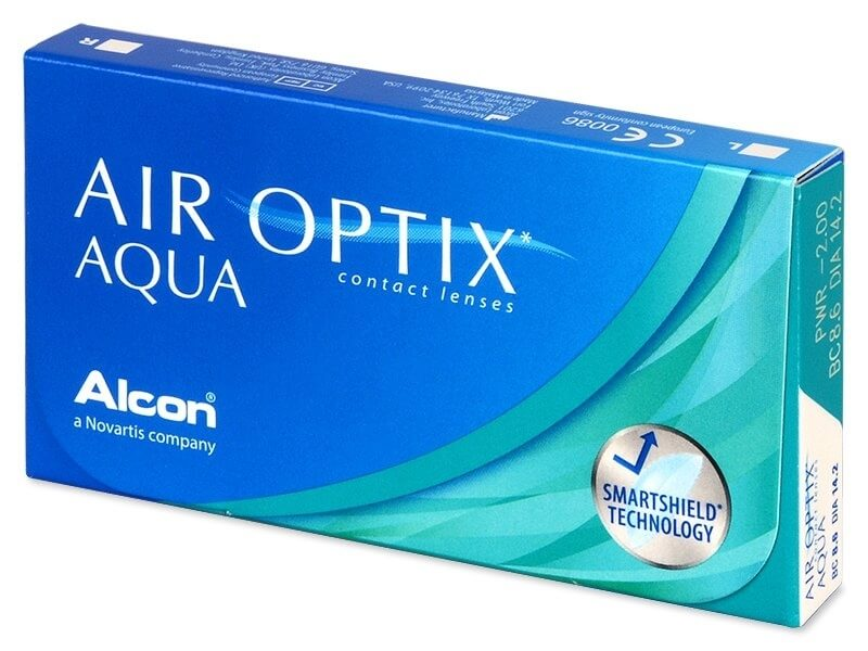 Alcon Air Optix Aqua 6 čoček -0,50