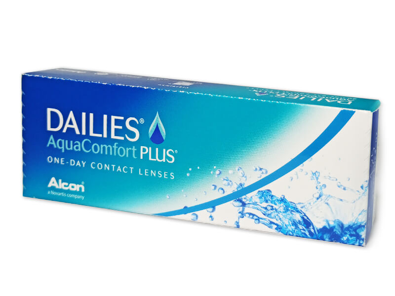 Alcon Dailies AquaComfort Plus 30 čoček  -0,50