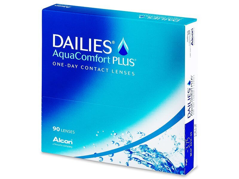 Alcon Dailies AquaComfort Plus 90 čoček -2,25