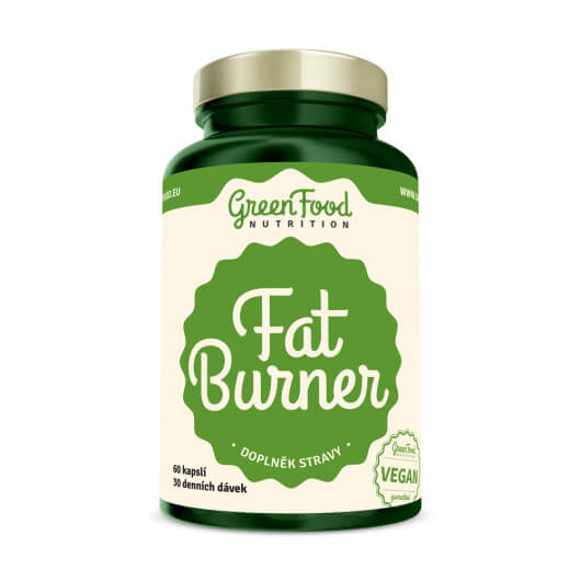 GreenFood Nutrition GF Fat Burner 60 kapslí