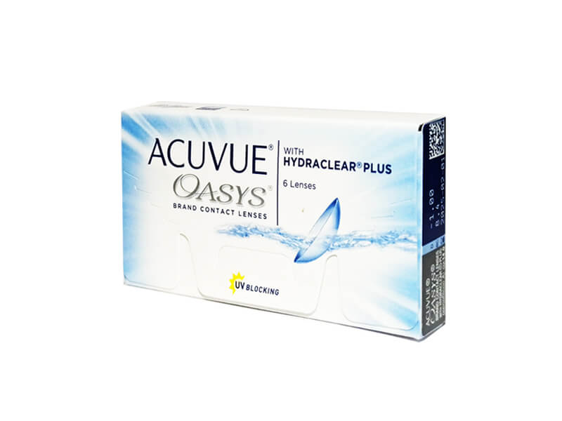 JohnsonJohnson Acuvue Oasys Plus 6 čoček -0,50