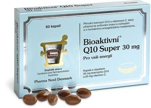 Pharma Nord Bioaktivní Q10 Super 30 mg 60 ks