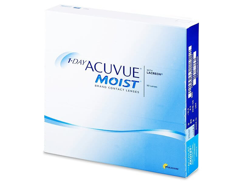 JohnsonJohnson Acuvue Moist 1-DAY 90 čoček -2,00