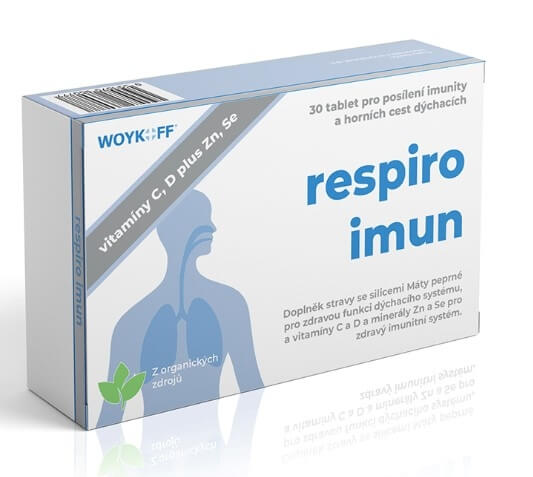 Woykoff Respiro imun 30 tablet