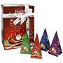 Dárková kolekce BIO 12 pyramidek, 4 příchutě Červený Santa