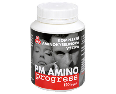 PM Amino Progress 120 kapslí