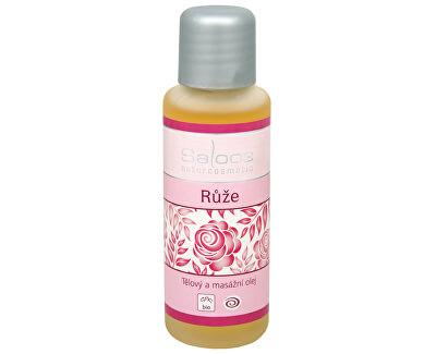 Bio tělový a masážní olej - Růže