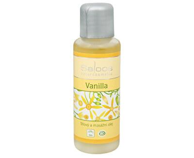 Bio tělový a masážní olej - Vanilla 50 ml