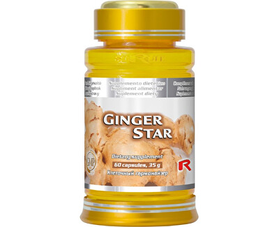 GINGER STAR 60 kapslí