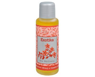 Bio Wellness exkluzivní tělový a masážní olej - Exotika 50 ml