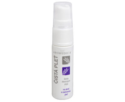 Curat piele - un amestec de uleiuri esențiale în acnee si inflamate de piele 10 ml