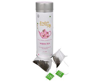 Čistý bílý čaj BIO 15 pyramidek v plechovce