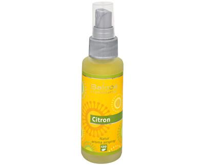 Natur aroma airspray - Citron (přírodní osvěžovač vzduchu) 50 ml