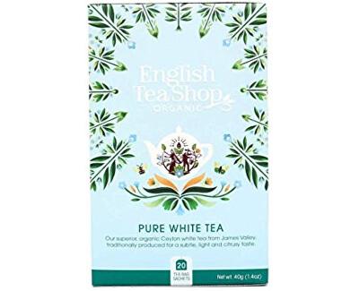 Čistý bílý čaj BIO 20 sáčků