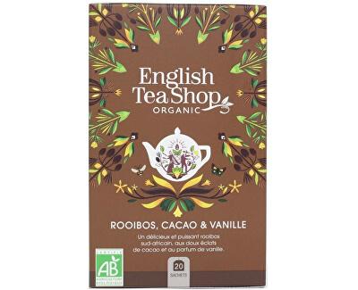 Rooibos, kakao a vanilka BIO 20 sáčků